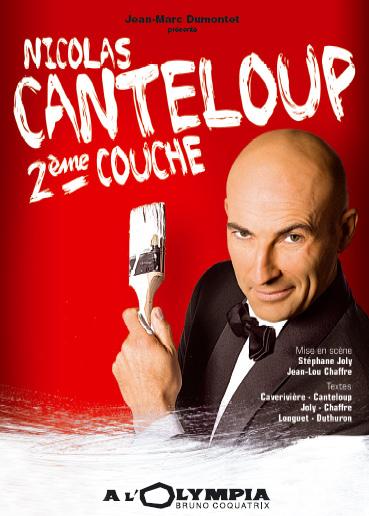 Nicolas Canteloup - 2ème couche affiche